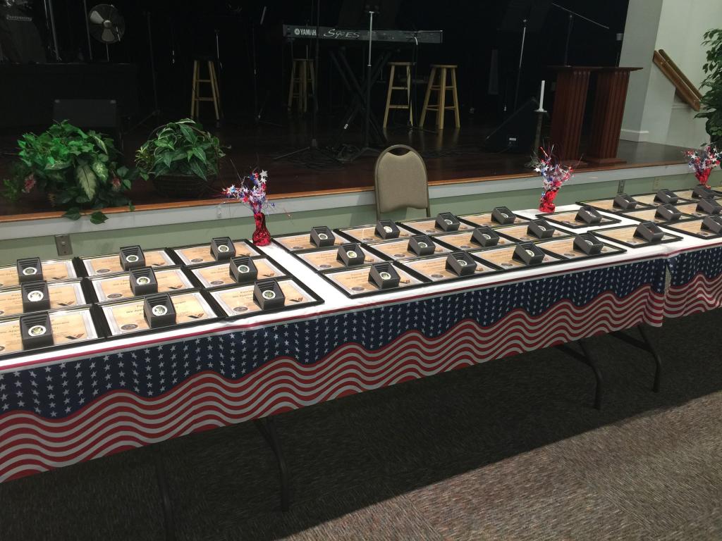 Pinning Ceremony June 2017